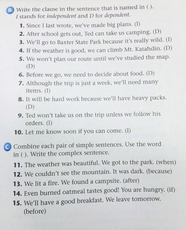 Compound And Complex Sentences Worksheet Ks2 simple compound and – Simple Compound and Complex Sentences Worksheets