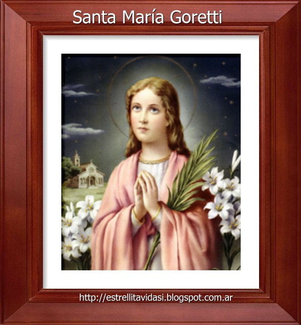 Santa María Goretti  1890-1902