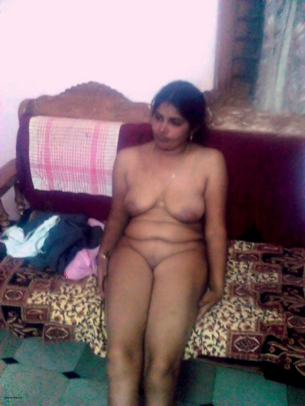Wife naked couch