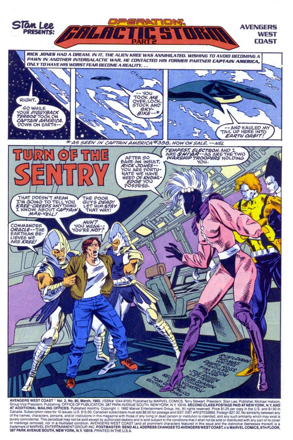 Captain America (1968) Issue #398b #332 - English 2