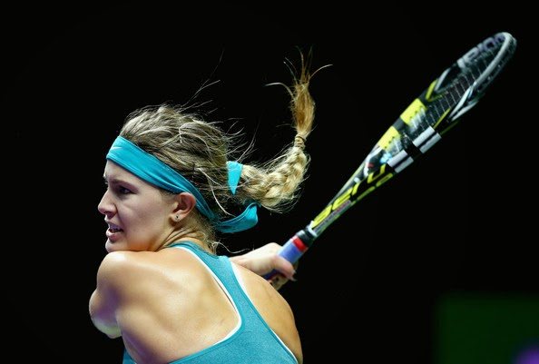 As the cbc.ca report, Eugenie Bouchard selected as the Canadian Athlete of the year for 2014, cause her progress and performance on tennis fields in Semi-Final Australian Open, Final Roland Garros, and Wimbledon Semi-Final.