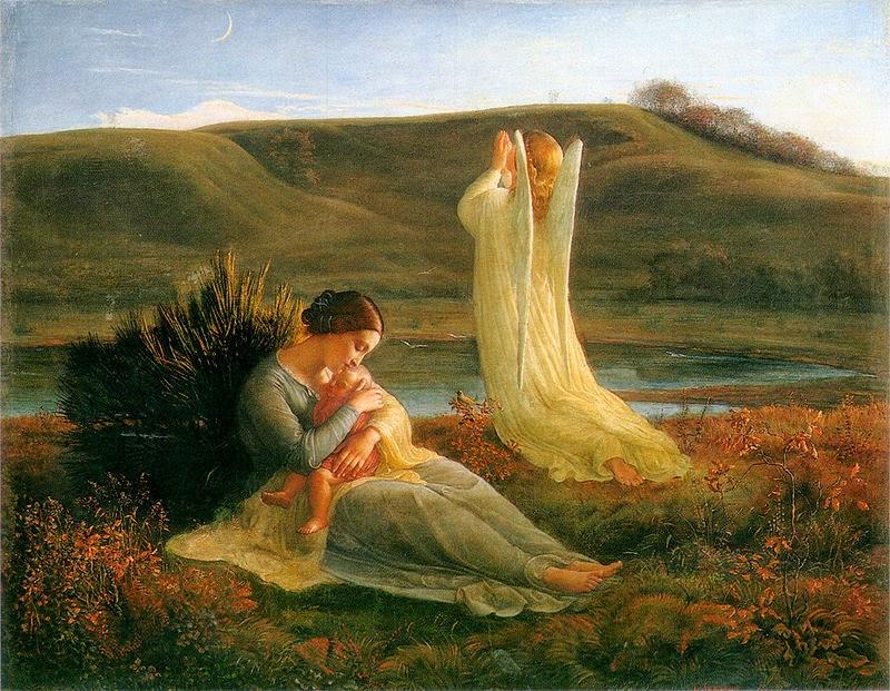 El ángel y la madre