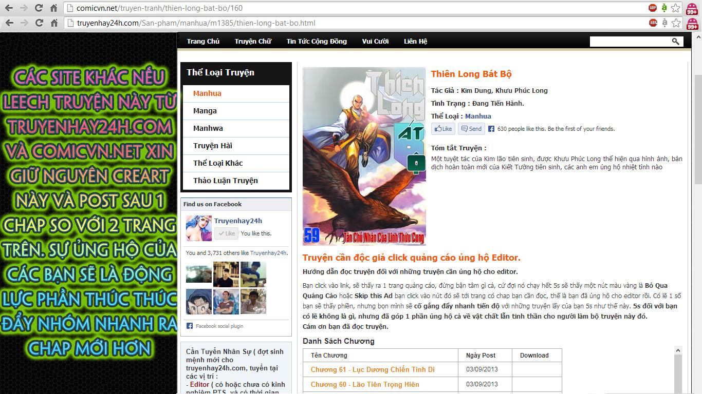 Thien Long Bat Bo Chap 61 - truyen Thiên Long Bát Bộ online