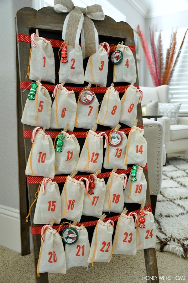 Calendar Advent Diy : Honey we re home diy advent calendar