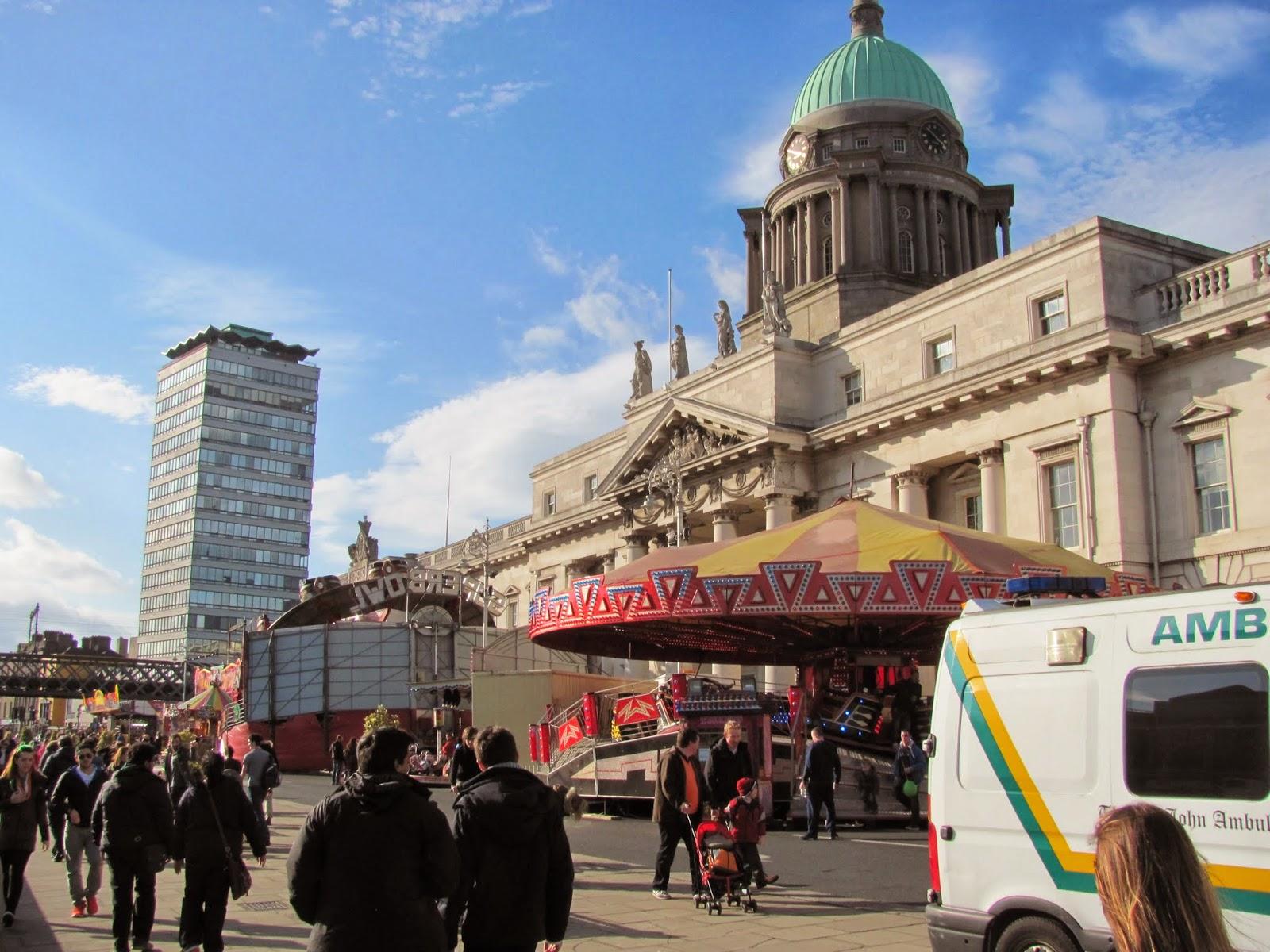 Funfair in Dublin