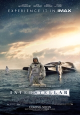 Carátula del DVD Interstellar