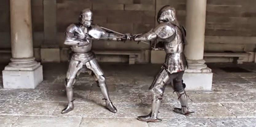 Le combat en armure au Moyen-âge