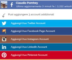 salvare facebook e instagram su PC