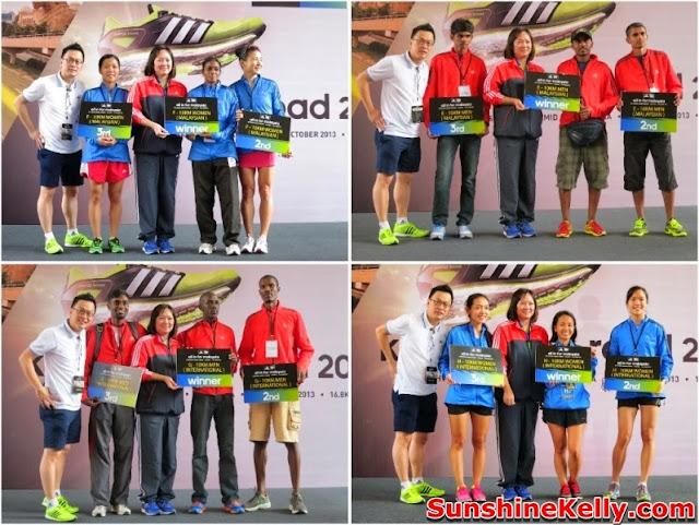 adidas Malaysia, King Of The Road 2013, marathon, Run, race, sunway pyramid, adidas, kotr, winners