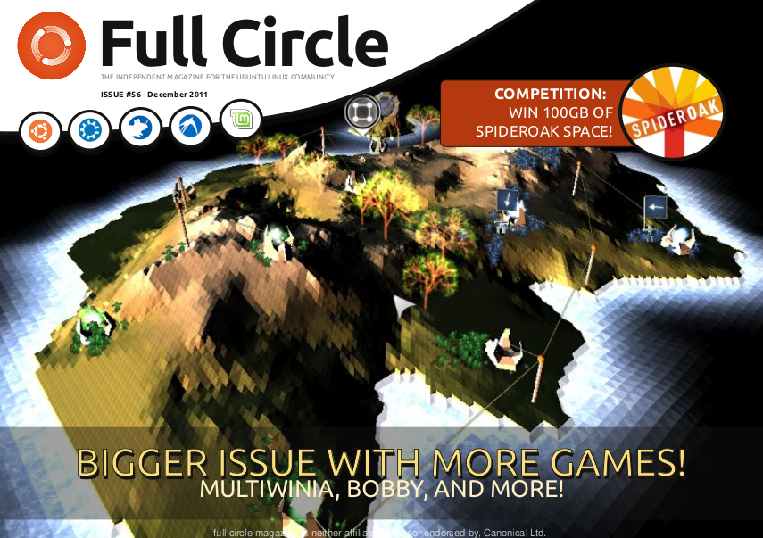 Full Circle Magazine Edisi 56