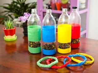 Revista Padres: 10 Juguetes reciclados - Manualidad para niños