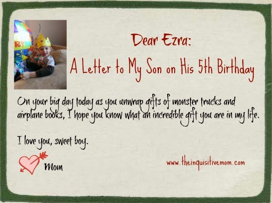 birthday letters essay