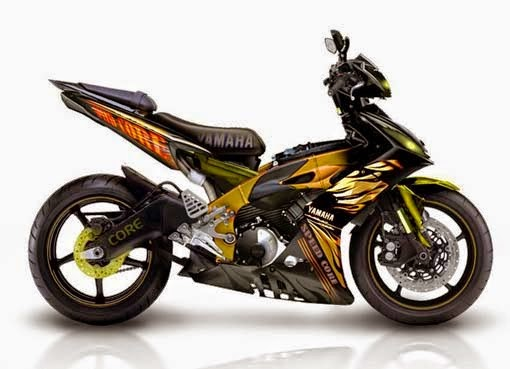 25  Modifications Yamaha Jupiter MX   The Motorcycle