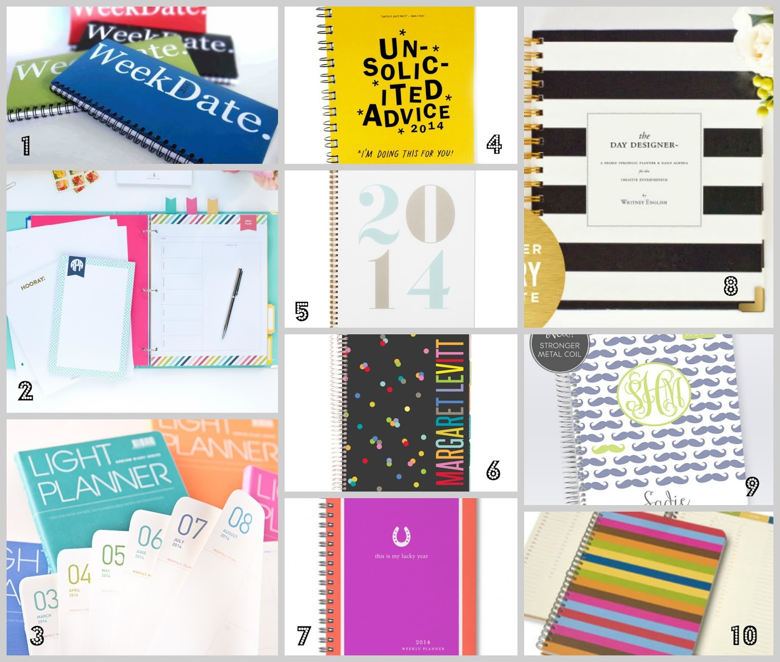 10 Best Planners for the New Year Not Entirely Perfect