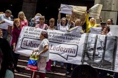 El líder opositor venezolano Antonio Ledezma, hospitalizado