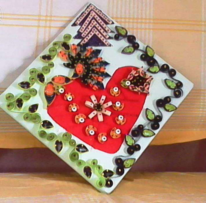 Paper quilling gift items art craft gift ideas for Quilling paper craft ideas