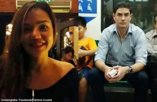 Video of Pinay named Harlene Azuela Asking for Help to Find a Guy on the Train Became Viral