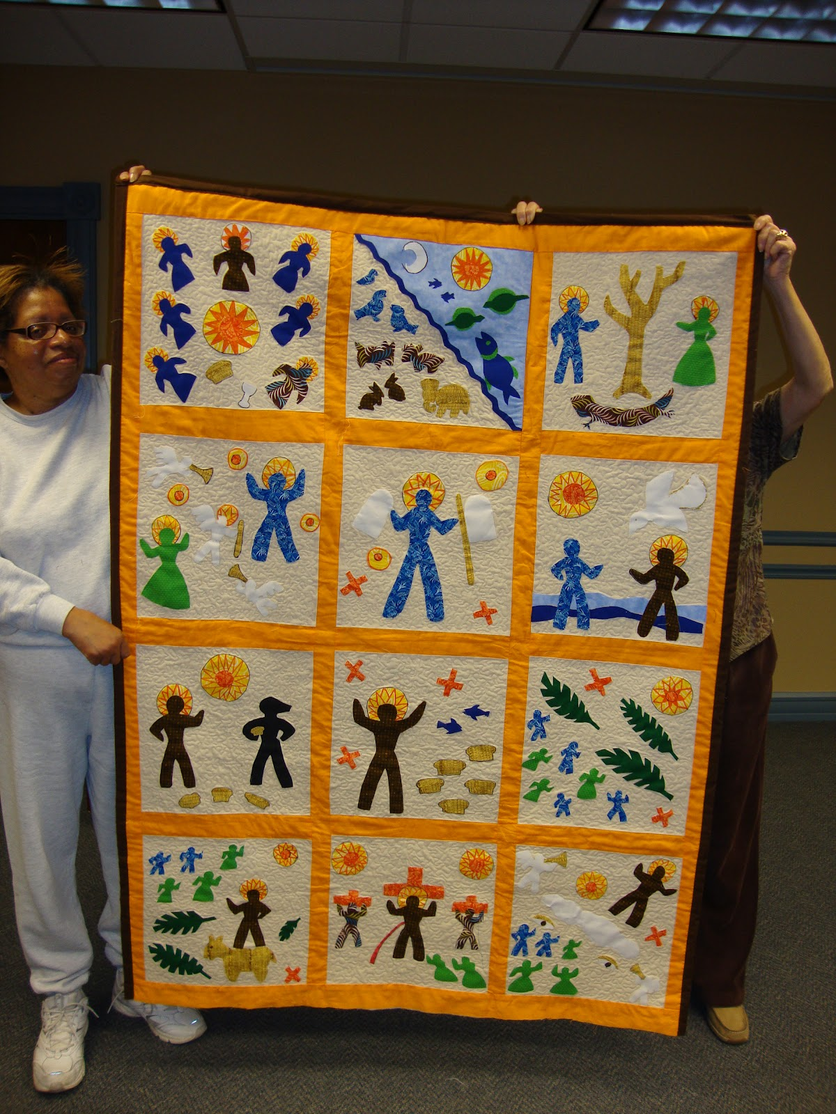 Black Threads: Women of Color Quilters Guild in Dayton, OH Stitch ... : harriet powers bible quilt - Adamdwight.com