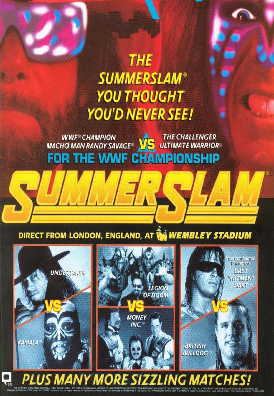 WWF / WWE - 1992 Summerslam