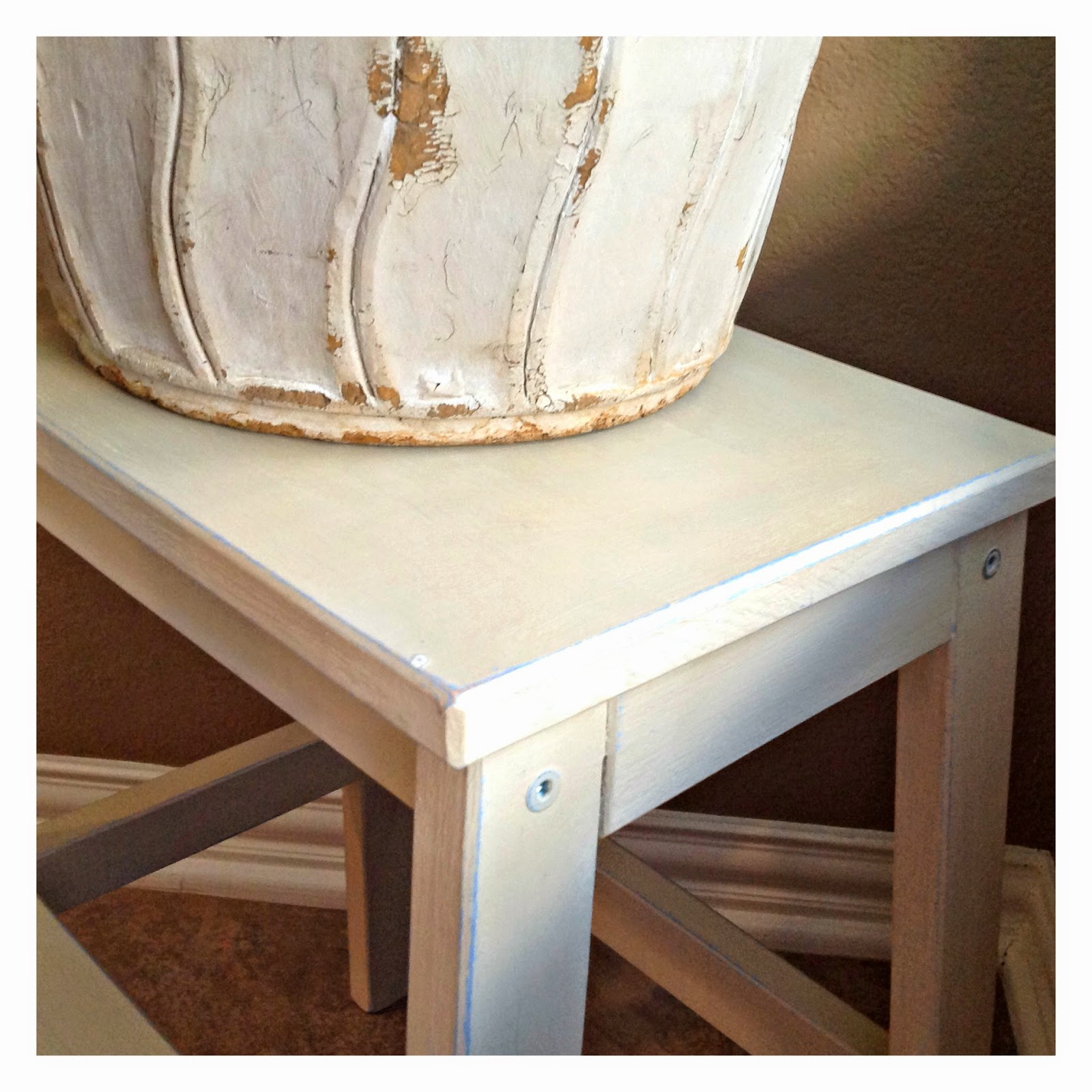 The House Enthusiast Step Stool Makeover