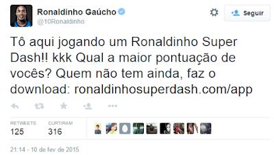 ronaldinho gaúcho twitter
