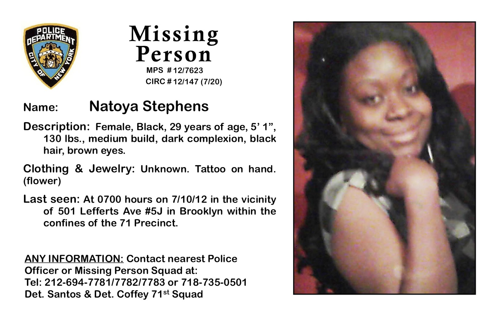 Doc14031984 Missing Person Template Missing Person Poster – Missing Persons Poster Template