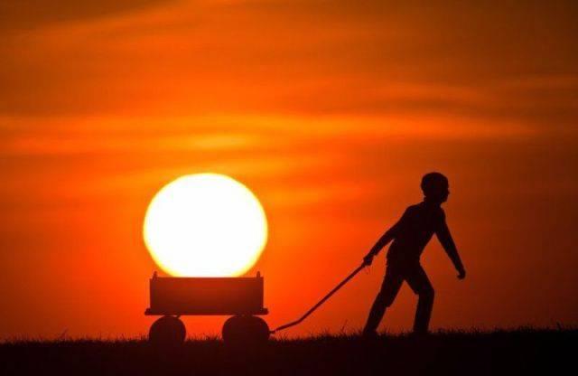 fotos criativas - criatividade com sol - Gnvision