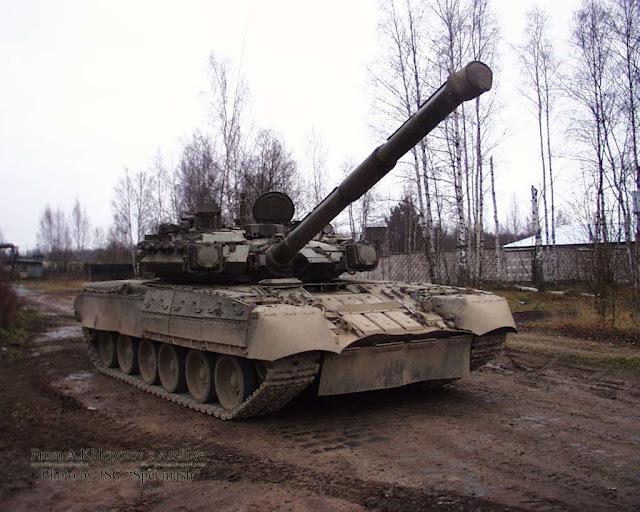 Модернизированный танк Т-80УА (объект 219АМ-1)
