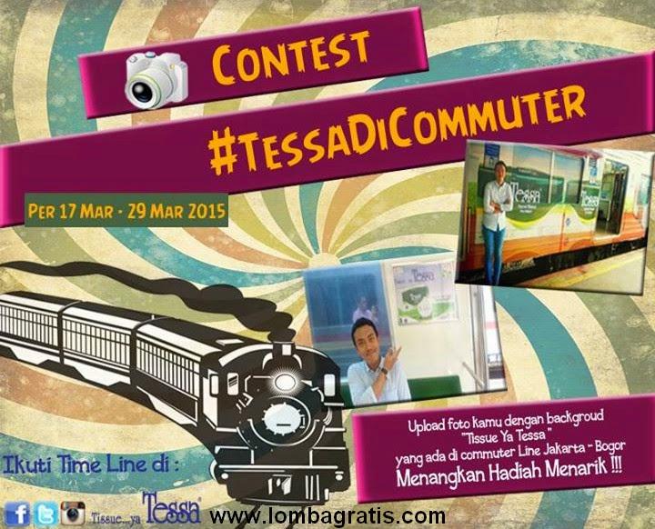Kontes Foto Tessa Di Commuter Berhadiah Multi Trip Card