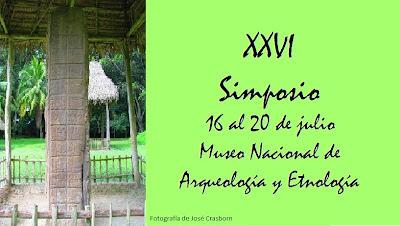 Simposio de Arqueologia Guatemala 2012