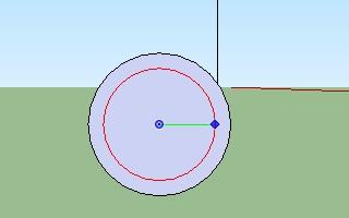 Cara membuat pipa dengan menggunakan Google SketchUp-2