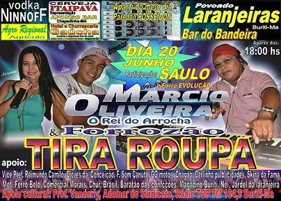 Márcio Oliveira e Tira Roupa em Buriti
