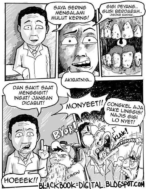 Komik Lucu Iklan Sensodyne
