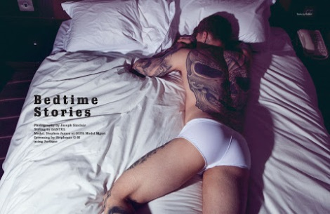 Model Stephen James stars in Bedtime Stories