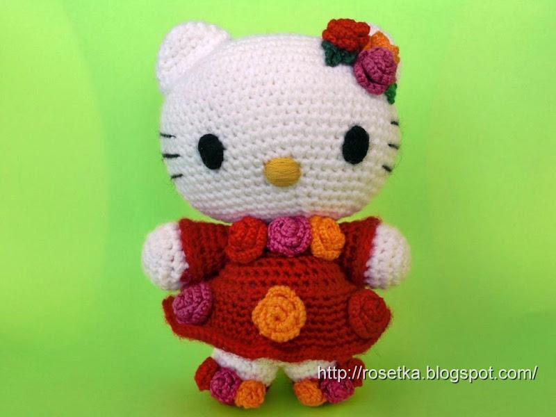 Схема Амигуруми Hello Kitty