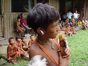 Hermanos Yanomami