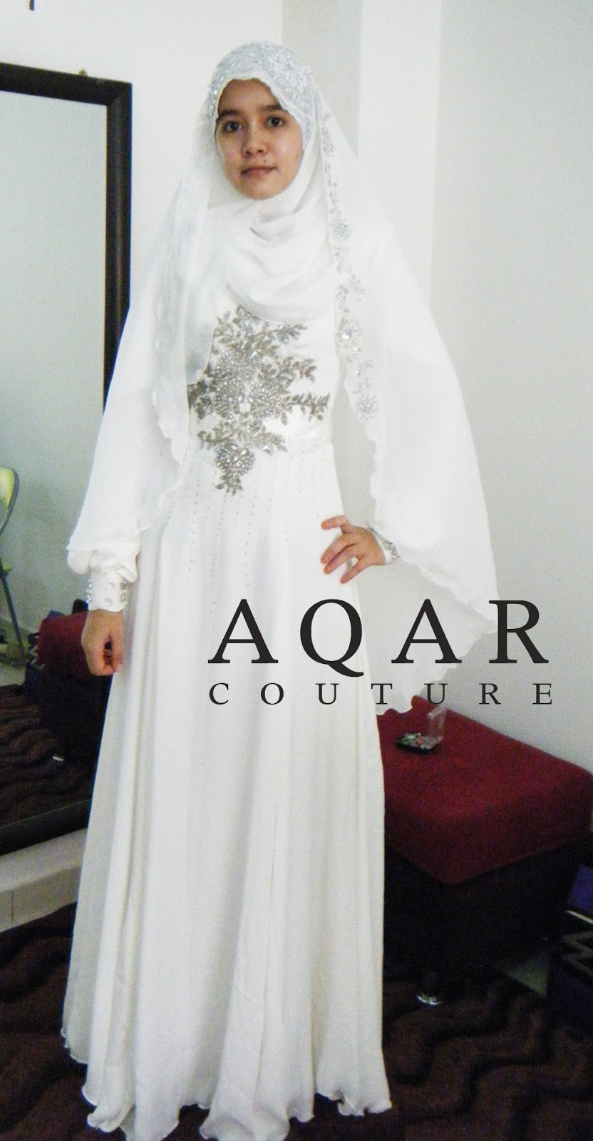 AQAR COUTURE Another Simple Nikah Dress.. (Less Is More!! Dear Alls )