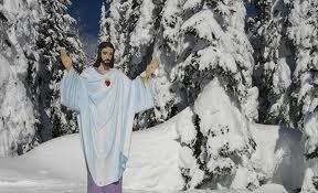 Jesus statue, Montana war memorial