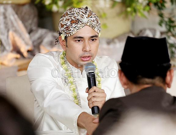 foto ijab kabul pernikahan raffi ahmad dan nagita slavina