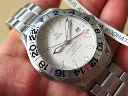 OMEGA SEAMASTER GMT CHRONOMETER - WHITE WAVE DIAL - AUTOMATIC