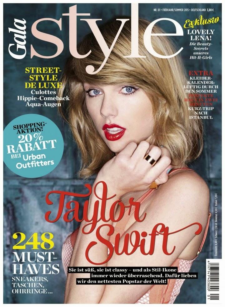 Taylor Swift Gala Style Magazine Spring Summer 2015