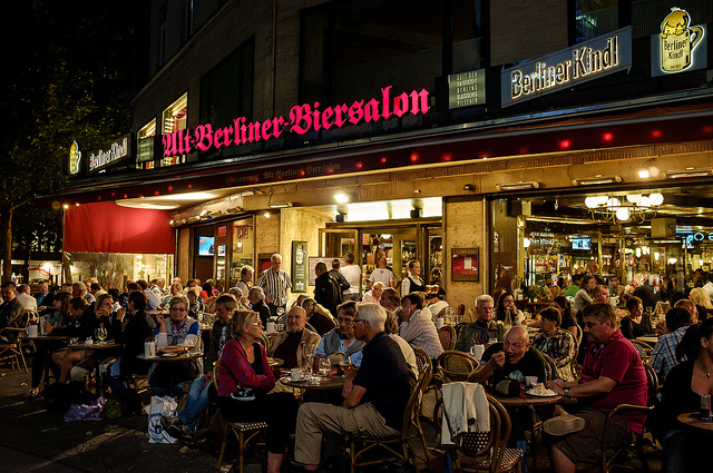 nhà hàng Alt Berliner Biersalon