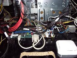 Interruptor del fluorescente (abajo a la derecha)