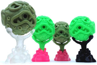 ooze-ball and ooze-claw