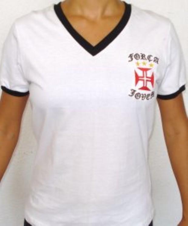 25faf5af66 FORÇA JOVEM 2010  CAMISA. Camisa 2010. Postado por Torcidas do Vasco ...