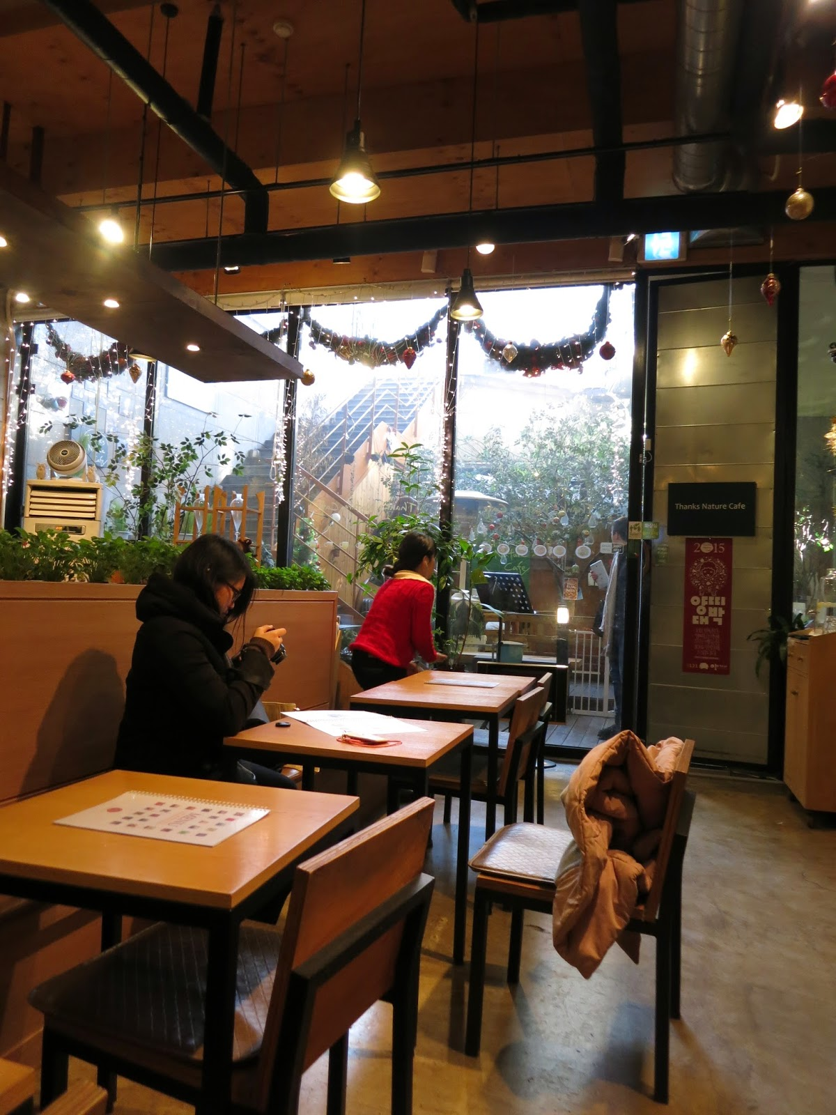 Thanks Nature Cafe (Sheep Cafe) - Hongdae, Seoul