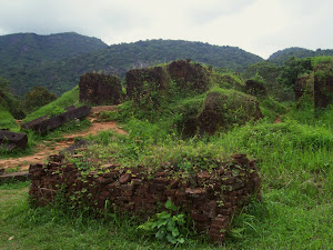 Remains of the temple at My Son Sambhubhadresvara