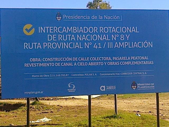 COLECTORA DE RUTA 8: CARA, INNECESARIA Y SOSPECHOSA