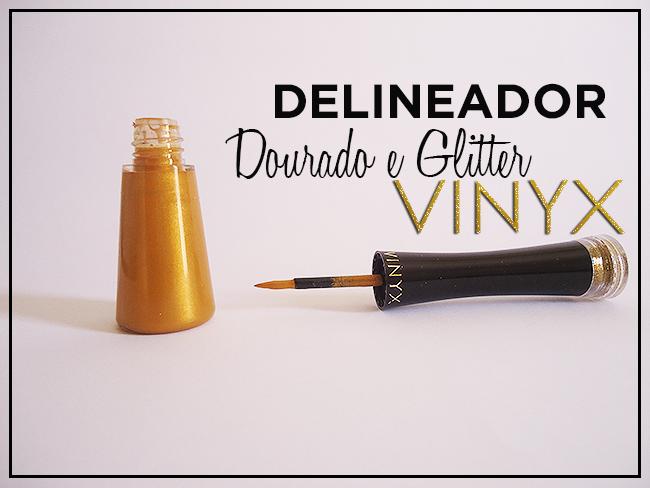 Delineador com Glitter da Ninyx + Para o Carnaval