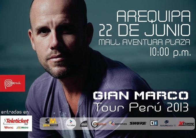 Gian Marco en Arequipa (22 junio)